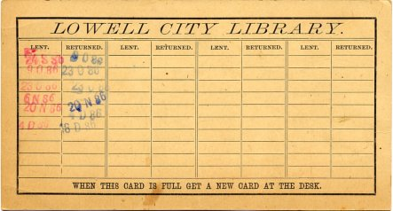 Library Cards – Library Card
