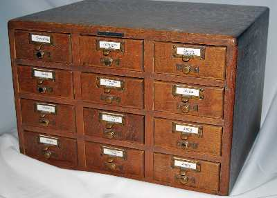 Evolution of the Card Catalog